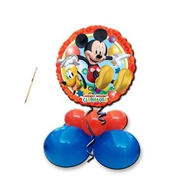 Centrotavola palloncini Topolino con foil Mickey Mouse