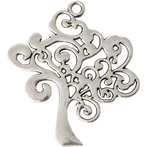 Set da 12 Ciondoli Albero della vita argento, per bomboniere