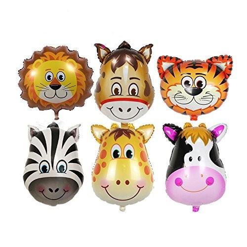 20 palloncini animali della Savana