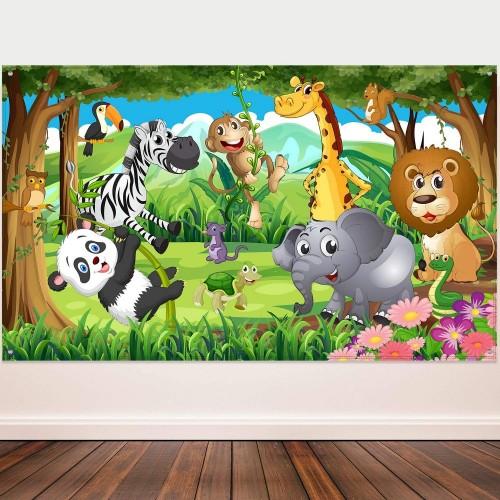 Decorazioni murale animali della Savana