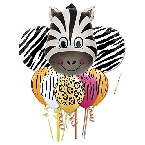 Bouquet palloncini zebra