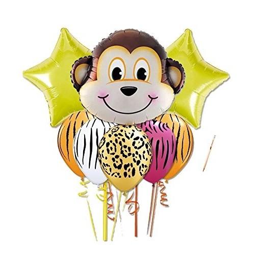 Bouquet palloncini Scimmia - Savana