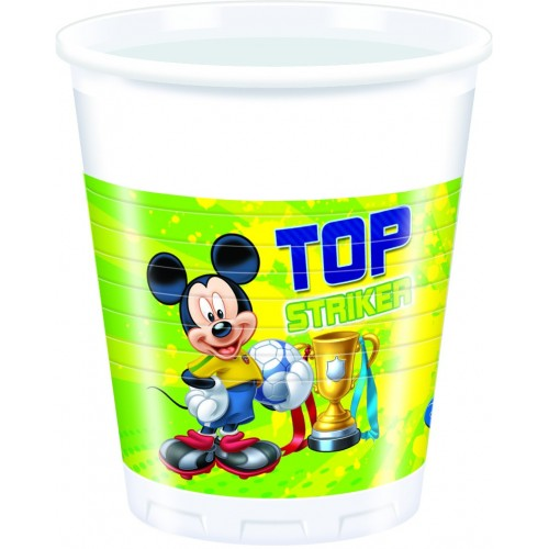 Bicchieri Topolino Goal
