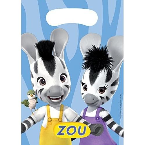 8 Sacchetti Zou Zebra