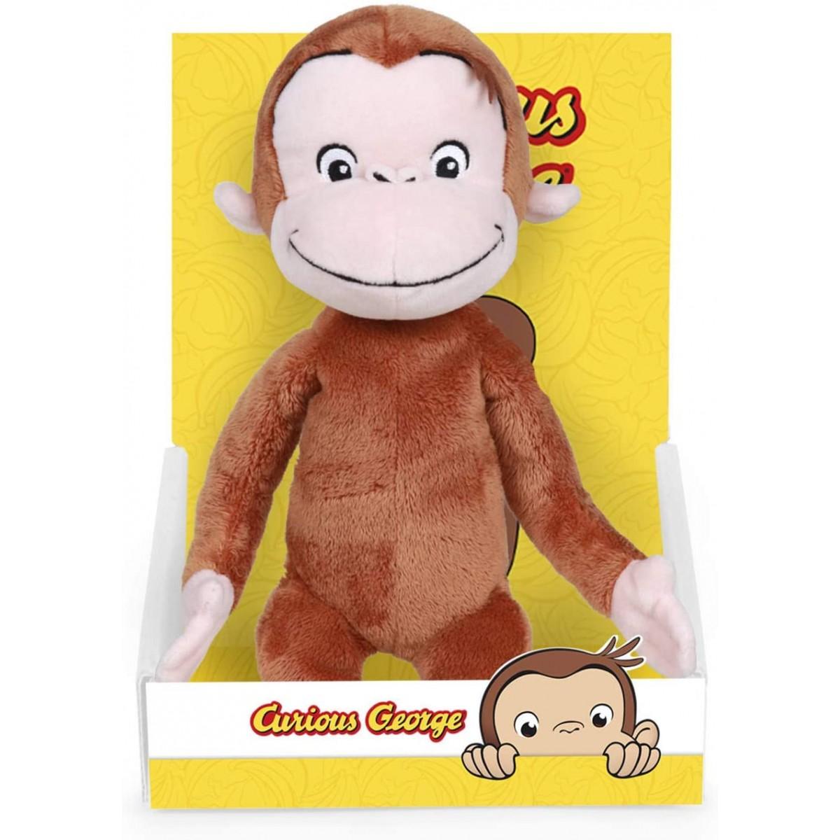 Peluche scimmia Curioso come George, idea regalo
