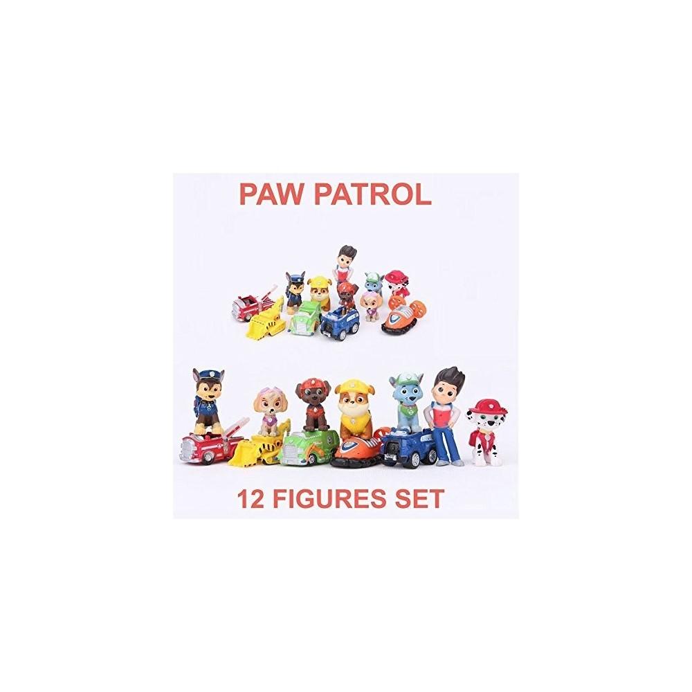 Modellini Paw Patrol, action figures