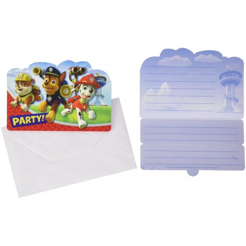 Inviti compleanno Paw Patrol