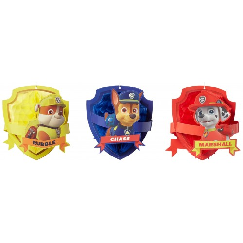 3 foil Paw Patrol