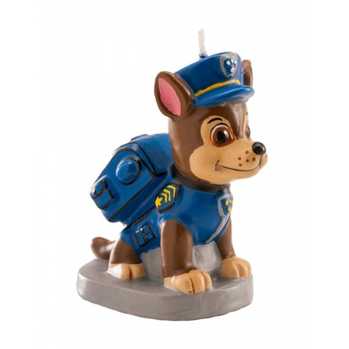 Candelina 3d Chase - Paw Patrol per torte di compleanno