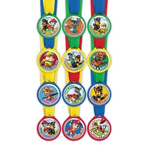12 medaglie Paw Patrol