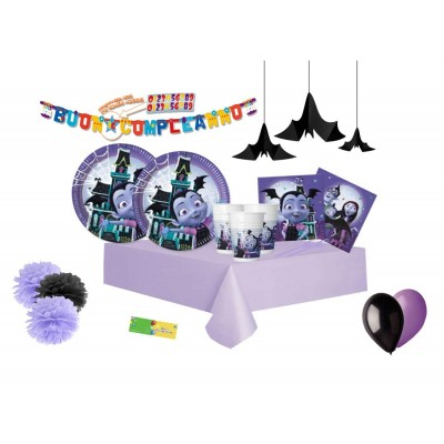 Kit compleanno per 16 persone di Vampirina