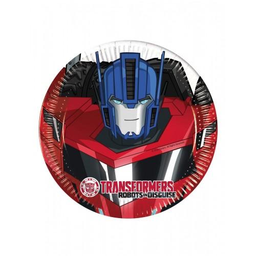 Piattini dessert Transformers