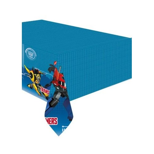 Amscan International 9901305 Transformers Robots in Disguise tovaglia di plastica da 1,2 m x 1,8 m