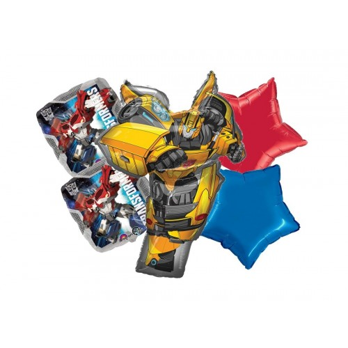 Bouquet palloncini Transformers