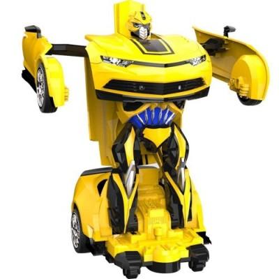 PETRLOY Chevet Deformed Bumee Telecomando Senza Fili RC Autobot 10 Anni Ragazzi Festa di Compleanno Giallo Natale Sorpresa 1/
