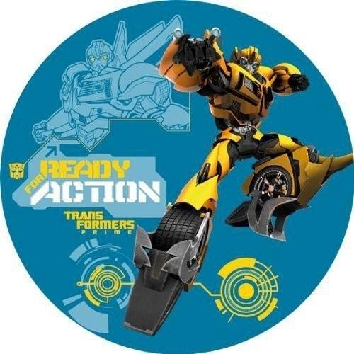 Cialda Transformers personalizzabile, per torte e dolci