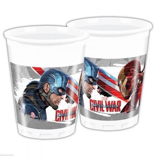 Bicchieri Captain America - Avengers Civil War