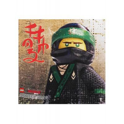 Tovaglioli Lego Ninjago Movie, 20 pz, per feste di compleanno