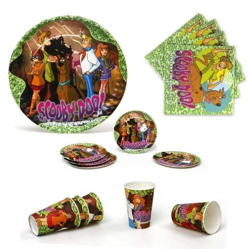 Kit per 5 persona Scooby-Doo