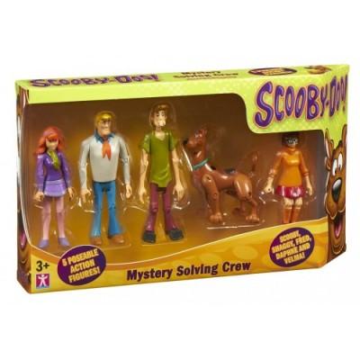 Modellini Scooby Doo - 5 pz.