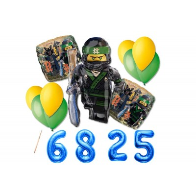 Bouquet di palloncini Lego Ninjago