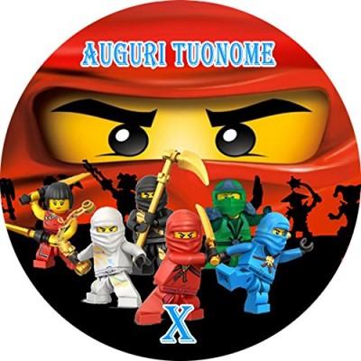 Cialda Lego Ninjago personalizzata
