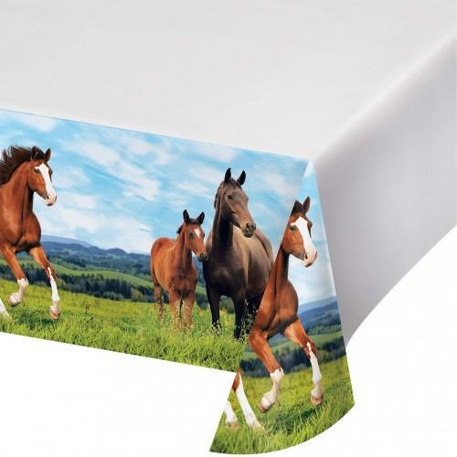 Tovaglia Cavalli Verde