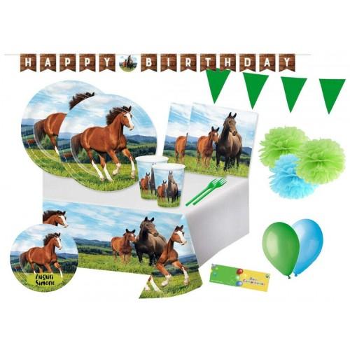 Kit 32 persone Cavalli