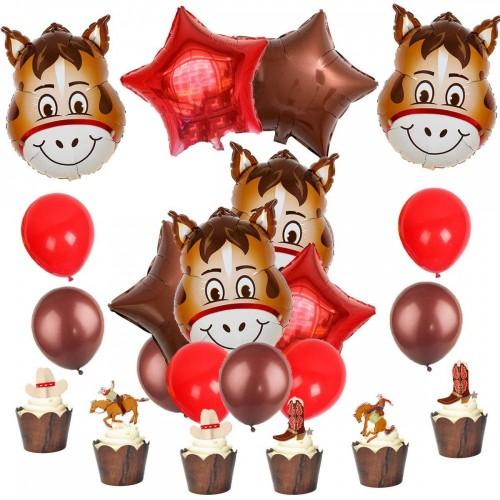 Set palloncini tema Cavalli