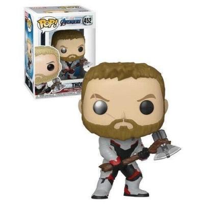 Funko- Pop Bobble: Avengers Endgame: Thor Collectible Figure, Multicolore, 36662