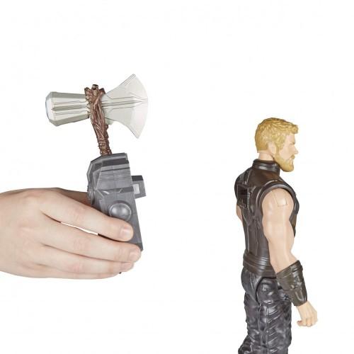 Avengers: Infinity War - Thor Titan Hero Power FX  Personaggio 30 cm, Action Figure , E0616103