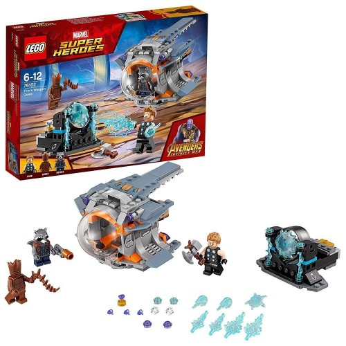 LEGO Super Heroes - La Ricerca dellArma Suprema di Thor, 76102