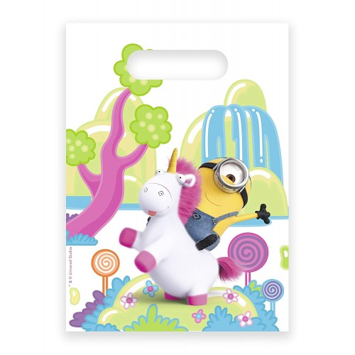 Sacchetti compleanno Agnes e Fluffy