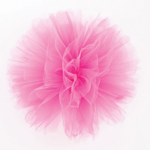 Festone Fluffy in tulle fucsia