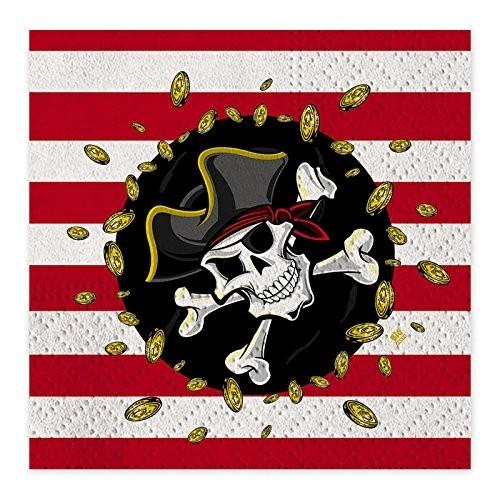 Tovaglioli di carta Pirati