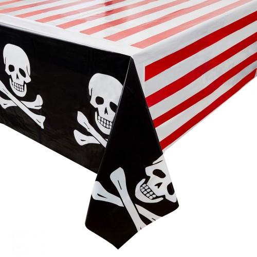 Tovaglia Pirati con teschi