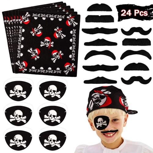 Set 24 accessori Pirata
