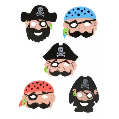 12 maschere da pirata