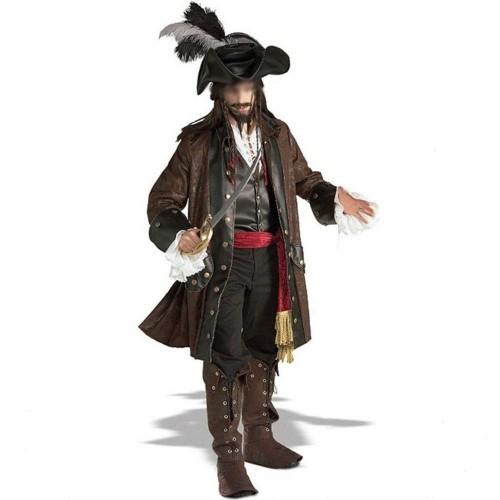Costume Jack Sparrow - Pirati dei Caraibi