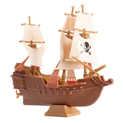 Modellino nave Pirati in plastica