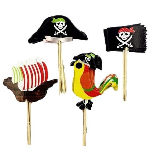 48 Cake Topper Pirati
