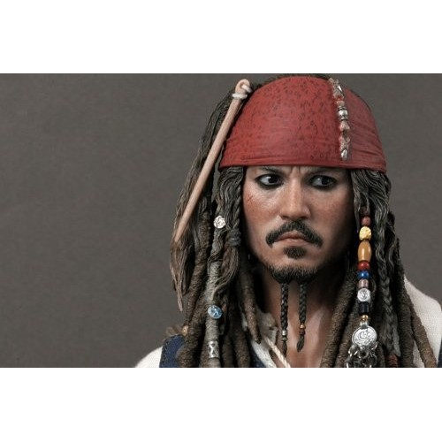 """Pirates Of The Caribbean 4 """"On Stranger Tides"""" - I Pirati Dei Caraibi """" Oltre I Confini Del Mare"""" 12 Jack Sparrow 1/6 Movie"""