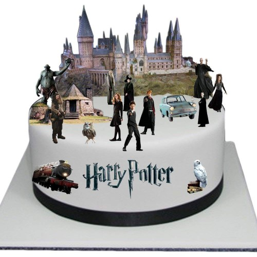Set decorazione torta Harry Potter