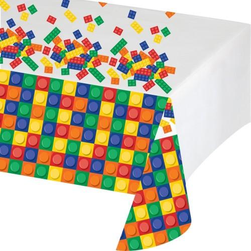 Tovaglia Lego -  Block Party - 137 x 260 cm, in plastica