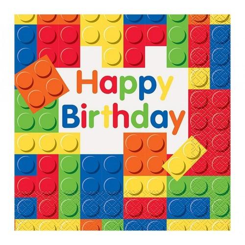 Tovaglioli di carta Lego