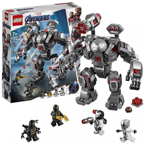 LEGO Super Heroes War Machine Buster, Set di Costruzioni per Bambini +8 Anni e per Tutti gli Appassionati di Marvel Avengers,