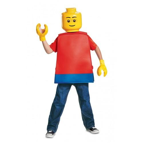 Costume omino Lego per Bambino
