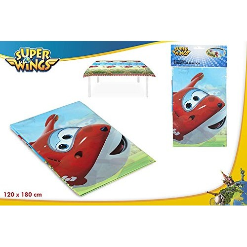 Tovaglia Super Wings 120x180 cm, in plastica