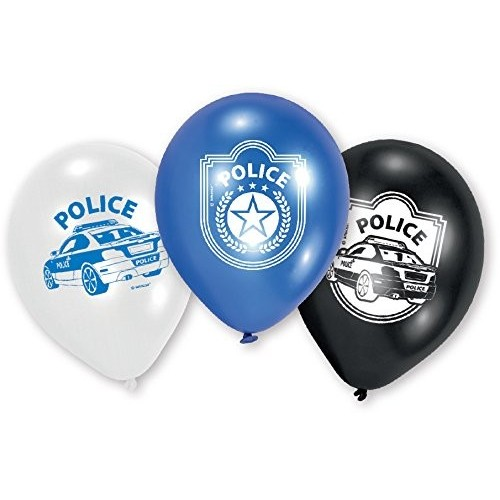 Palloncini lattice Polizia
