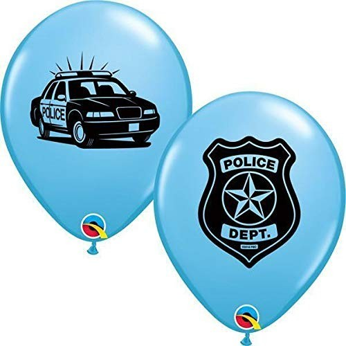 10 Palloncini per feste tema Polizia